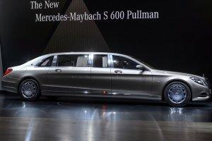 В честь юбилея – гигантский Mercedes-Maybach Pullman