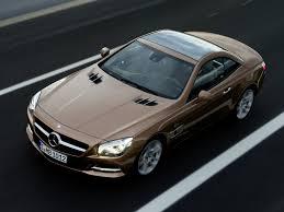 Mercedes-Benz SL покажут в рамках автосалона в Лос-Анджелесе